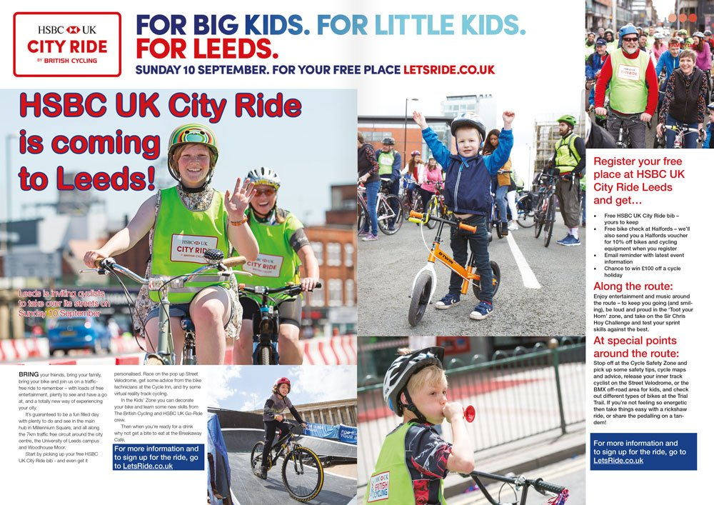 City ride coming to leeds article