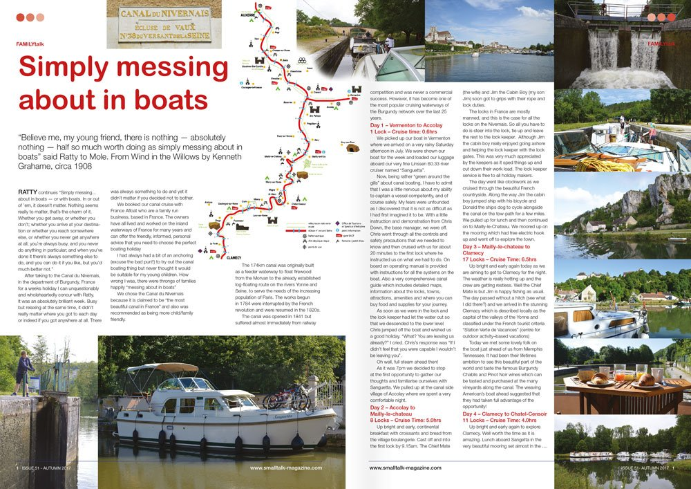 Simply messing about in boats article