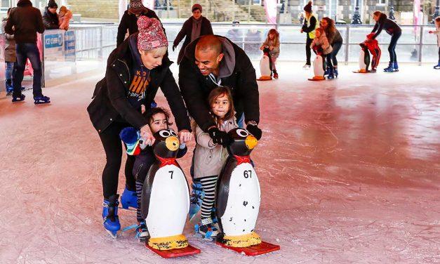Ice Skating returns to Millennium Square – Leeds