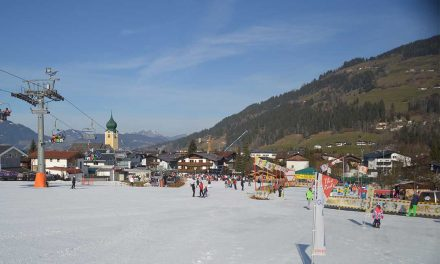 Learning to ski with the Family in Westendorf – Austria