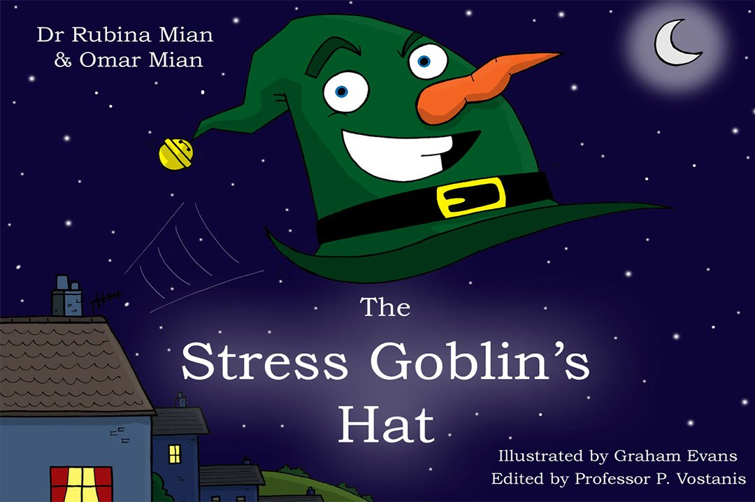 the stress goblins hat book cover