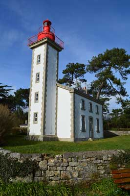 Lighthouse at Benodet