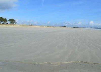 Wide open beaches