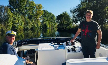 Family canal boating adventures on The Charente – France