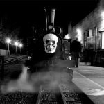 Climb aboard the Halloween Ghost Train for Fright Night at KLR