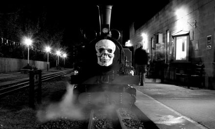 Win a family ticket for the KLR Halloween Ghost Train