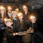 Family adventures 140 meters down England's last deep coal mine