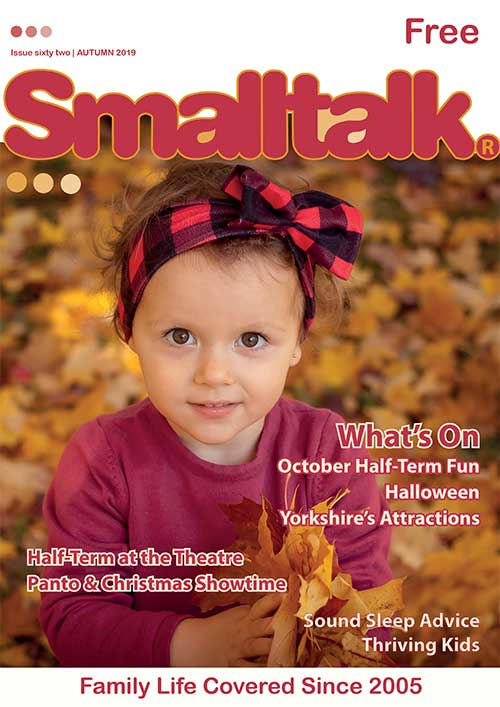 Smalltalk magazine front cover issue 62 autumn 2019