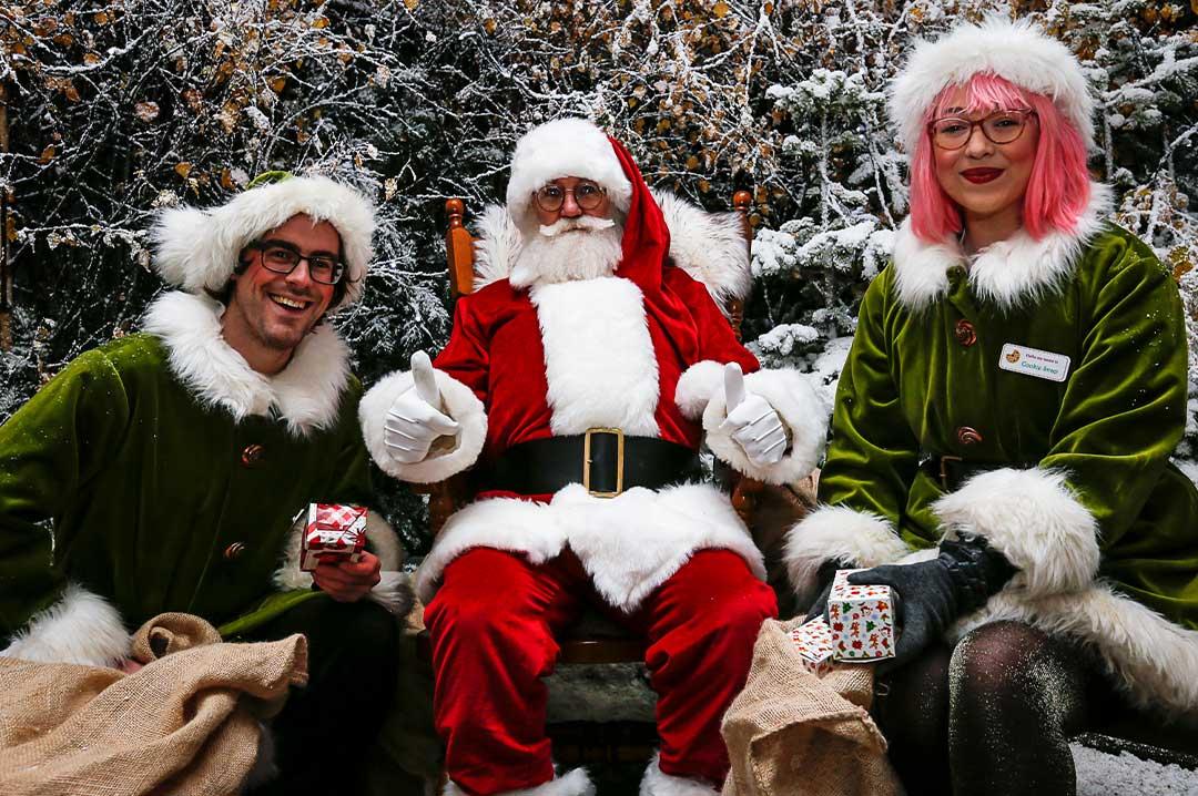 Santa Clause at Lotherton Hall