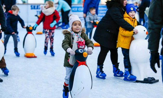 Win a family ticket for the ice cube in millennium square