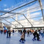 The Ice Cube ice skating ring returns to the heart of Leeds city centre