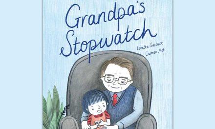"Win a Beautiful  ""Grandpa's stopwatch""  Book"